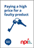 Featured Publication - Paying a high price for a faulty product