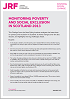 Click to view 'Monitoring Poverty and Social Exclusion in Scotland 2013' as a PDF